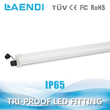 TUV fluorescent led tri-proof lamp, waterproof light ip65 led tri-proof lamp fixture