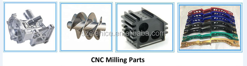 Best selling high quality Custom CNC Machining Automobile CNC Milling Part