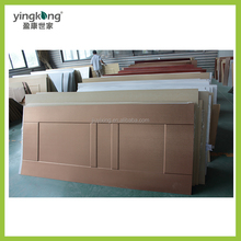 Alibaba China Factory 2MM Thickness Waterproof PVC/WPC Lamination Plastic Sheet/Panel Price for Door Factory