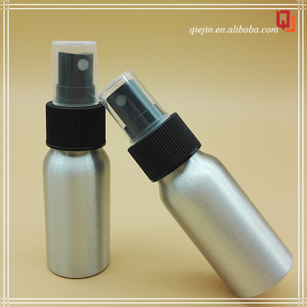china wholesale mini parfume aluminum bottle spray 30ml 60ml 100ml 120ml cosmetic wholesale olive oil aluminum bottle