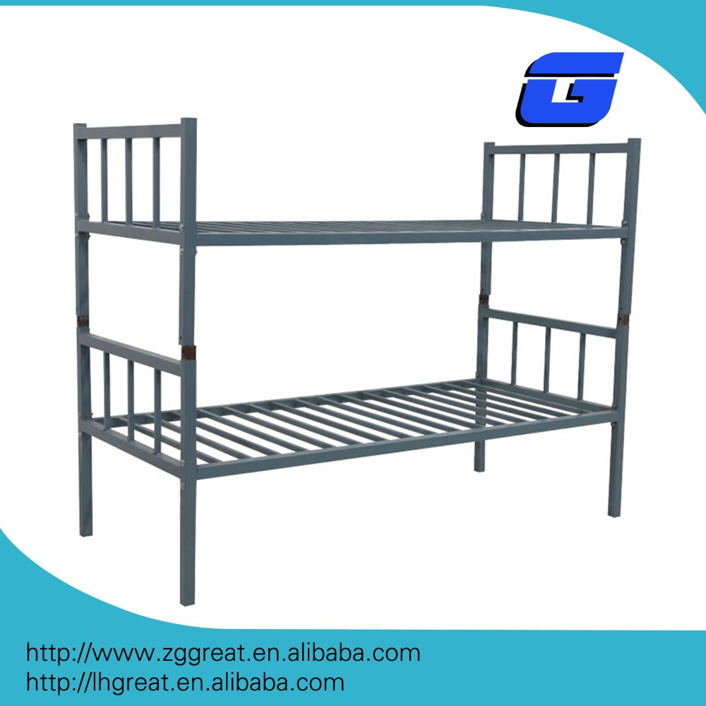 Used steel bunk beds for sale/metal bunk bed connector