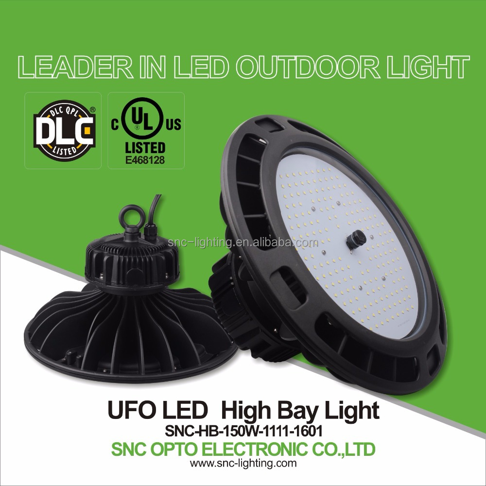 New led high bay light stadium lighting led light UFO led high bay light UL DLC listed led high bays