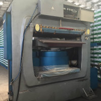 leather plate embossing machine second hand