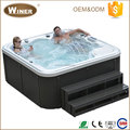 2016 CE certificated freestanding standard american family sex hot tub