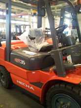 material handling equipment fork lift truck 3.5t diesel forklift with all kinds of attachments