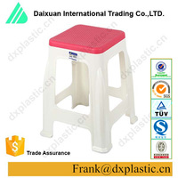 Wholesale low price colorful household plastic stool