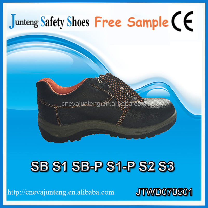 Genuine Leather PU Sole Liberty Industrial Safety Shoes/Waterproof Safety Footwear