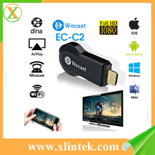 WiFi Wecast C2 Miracast Dongle Display anycast EZCast Airplay TV Receiver Dongle