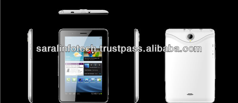 "7"" MTK8377 Dual core Best Price Android pc tablet Wifi, 3g phone"
