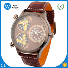 OULM/OW011 Fasion design high quality Oulm watches with PU leather band and very special new design of big face