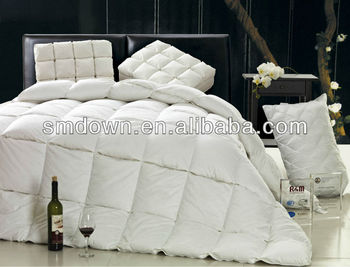 luxury home textile bedding down quilt,down duvet