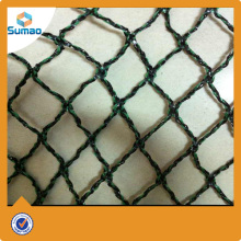 Green HDPE knitted bird hunting net manufacturers