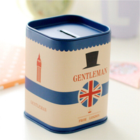 Hot selling Metal can Tin Digital money saving box coin bank