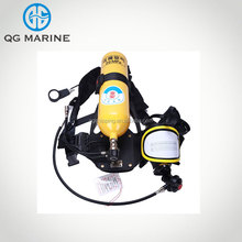 Self-contained oxygen msa breathing apparatus