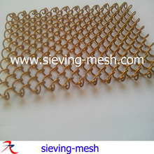 Hotel Metal Wire Mesh Curtain / Metal Woven Wire Fabric/ Metallic Mesh Drapery