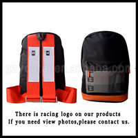 JDM Racing Backpack Harness Backpack Bag JDM Bag Red Racing Harness Backpack