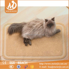 PVC Rectangle shape cat litter mat /cat floor mat /PVC pet food mat
