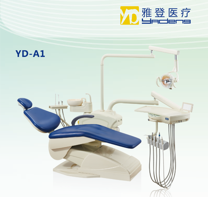 U.S.A tube dental chair Dental chair unit with vacuum suction YD - A1