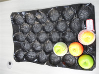 Black color PP Fruit Insert Tray 59*39cm, packaging Apple pear tomato