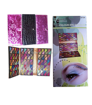 120 color eye shadow Three fold purse Eye shadow
