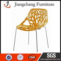 Bright Color Fashion Design Hollow Dining Chair JC-X15