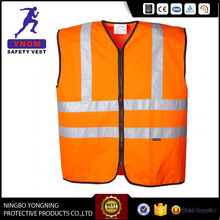 Manufacturing Class 3 polyester reflective safety vest Clothing