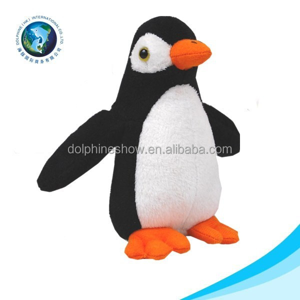 Different sea animals soft felling cute style plush penguin toy