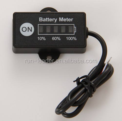 12V Battery Meter Digital for E-bike Club Buggy
