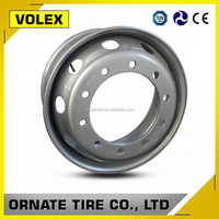 China Trailer Parts Steel wheels 9.00 22.5 Semi Truck Rim in Truck Wheel