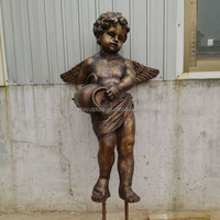 bronze angel statues for garden decoration