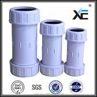 "Fine workmanship 3"" adjustable pvc compression coupling,quick coupling"