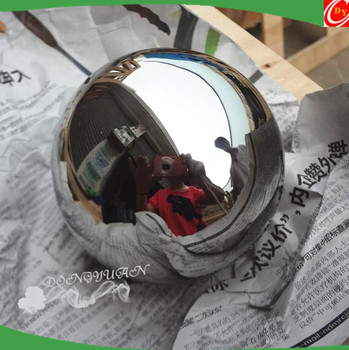 150mm Mirror Stainless Steel Solid Ball