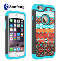 Sublimation cover heat press machine printing phone case for iPhone 6/6s
