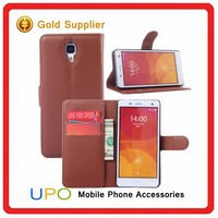 [UPO] New Arrival Flip Wallet PU Leather TPU Cell Phone Cover Case for Xiaomi mi 4 Stand Case with Card Slot