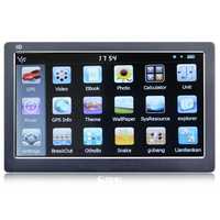 7inch Wince Truck Sat Nav GPS With 256MB And 8GB