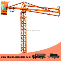 constriuction building equipments china supplier spider 15m manual concrete placing boom pouring concrete