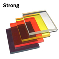 Factory price customized clear and color acrylic extruded plexiglass sheets
