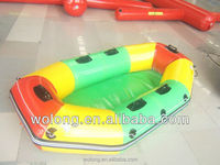 amusement park commercial inflatable rafting boat On Sale