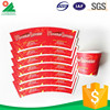 High Quality Disposable to go coffee cups with lids