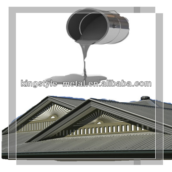 Silver aluminum paste for roof paint