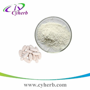 China supplier 100% natural pure white kidney bean powder white kidney bean extract phaseolin 1% for weight loss