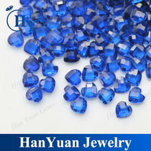 china manufacturing faceted cut gemstone synthetic spinel bead