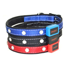 High Quality China Pet Supplier LED Lights Dog Pets Collars, LED Flashing Dog Collar Glow In The Dark Collar