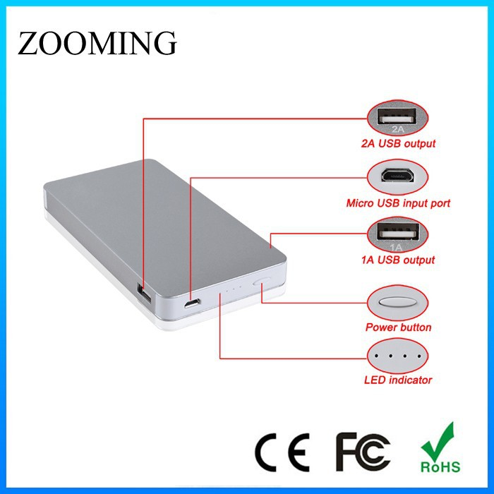 slim power bank,<strong>mobile</strong> power bank for asus zenfone 6,power bank portable charger
