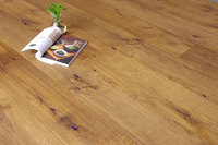 ABCD Grade Wide Plank Golden Color Flooring Engineered Wood of Oak
