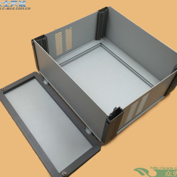 AB-4  / 110*280*260mm custom metal shell Control Box Medical Instrument Aluminium Chassis