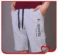 OEM service Custom 100%cotton men's shorts with printing