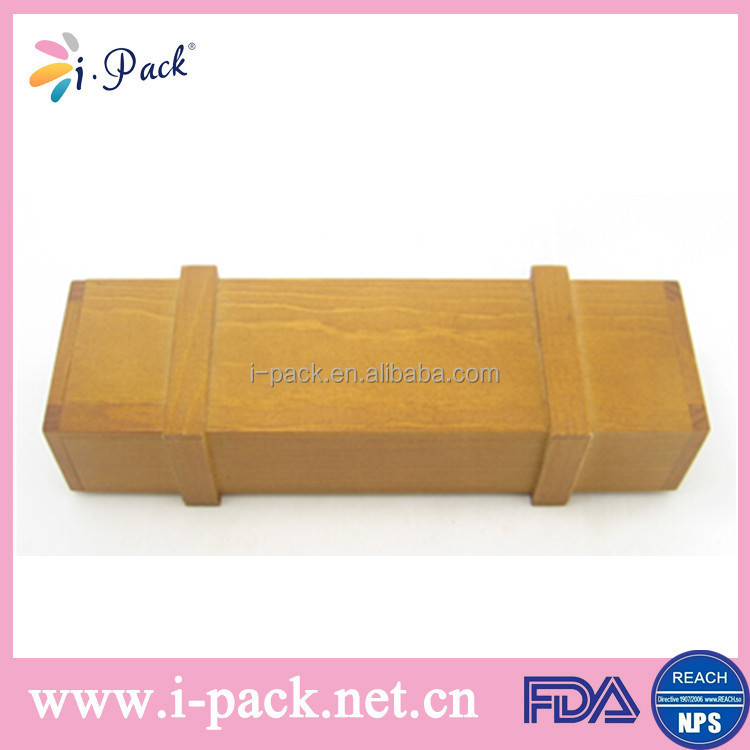 Custom high quality wooden optical glass case