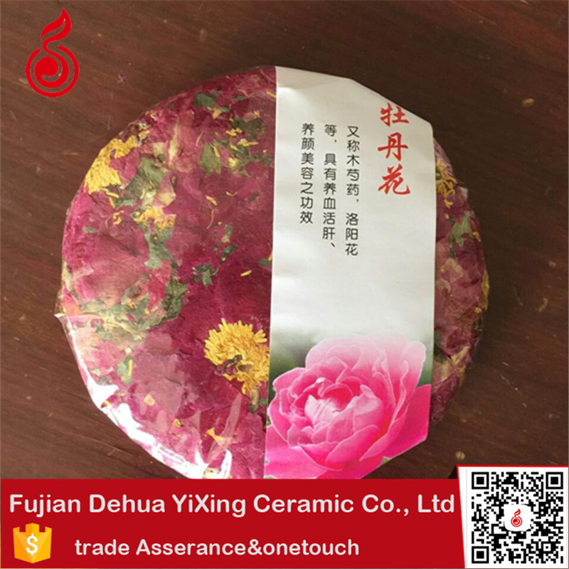 Compressed yunnan <strong>health</strong> peony Scented tea stash tea