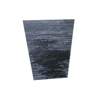 Wall Cladding Black Slate Natural Culture Stone